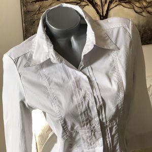 Spense Tops - Spense Fitted Dress Shirt